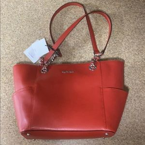 Calvin Klein Leather Tote - New with tags